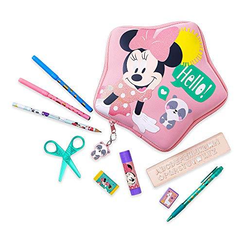 Disney Minnie Mouse Zip-Up - Kit de papelería
