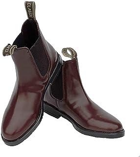 Rhinegold Comfey 经典皮革 Jodhpur 靴子