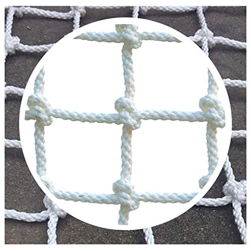 Buy Balcony/Stairway/Patio Railing Safety Net Building Safety Net White,Outdoor Animal Breeding Se...