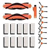 Kyvol - 21 pezzi di ricambio per robot aspirapolvere Kyvol, per Cybovac E20, Cybovac E30, Cybovac E31