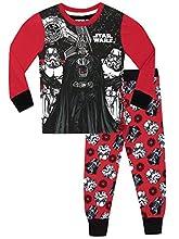 Star Wars Pijama para Niños Ajuste Ceñido Multicolor 12-13 Años