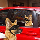 Andyshi 2 PCS 3D German Shepherd Sticker for Car Dog Stickers for Car Rear Window Funny Stickers for Cars Window Decals for Vehicles (#8)
