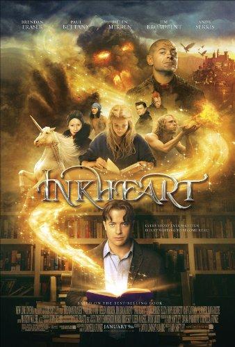 Inkheart Movie Poster (11 x 17 Inches - 28cm x 44cm) (2009) Style A -(Brendan Fraser)(Andy Serkis)(Paul Bettany)(Helen Mirren)(Jim Broadbent)(Eliza Bennett)