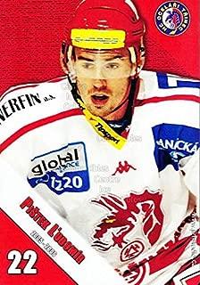 (CI) Lubomir Pistek Hockey Card 2005-06 Czech HC Ocelari Trinec Postcards 9 Lubomir Pistek