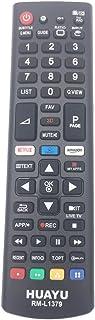 comprar comparacion HUAYU RM-L1379 - Mando a distancia estándar para televisor LG Smart LED TV con botones 3D/Amazon/Netflix APP - AKB75095307...