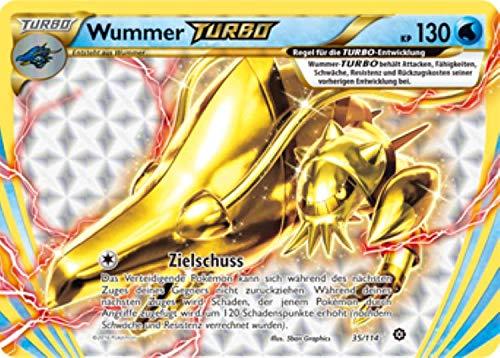 Wummer Turbo 35/114 Pokémon XY Dampfkessel Sammelkarte - Deutsch - Cardicuno