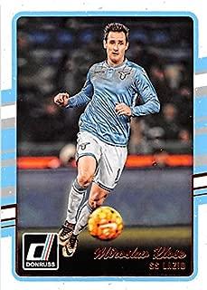 Miroslav Klose trading card (Soccer Football SS Lazio Italy German) 2016 Donruss #166