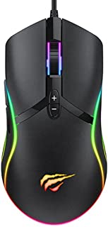Mouse Para Jogo Gamer MS1026 Led Rgb Chroma 6400 Dpi Usb Havit