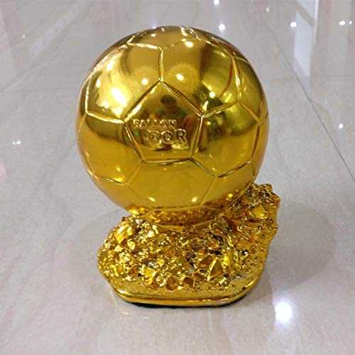 YWEHAPPY Ballon Dor Trofeos Fútbol Balón De Oro Premio Trofei ...
