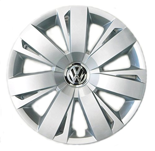 Genuine-OEM-VW-Hubcap-Jetta-Sedan-2011-2014-14-Spoke-Cover-Fits-16-Inch-Wheel