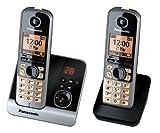 Panasonic KX-TG6722GB Duo Schnurlostelefon Display