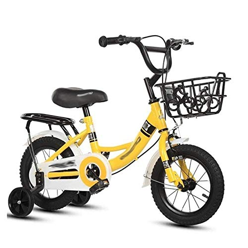 Affordable FQCD Kids Bike, Boy's Girl's Kids Children Bike Child Bicycle with Hand Brake and Basket ...