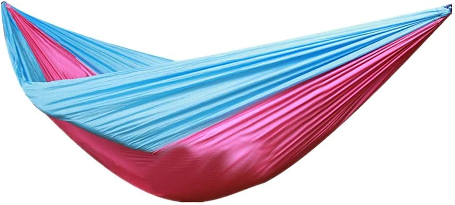 Design Bed Casual Double Parachute Camping Hammock for Backyard Porch Indoor or Outdoor Use Casual Comfortable Fashion Hammock (color   4)