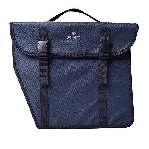 SHD Gepäckträger-Tasche Fahrradgepäckträgertasche Hinterradtasche Einzeltasche Blau Gepäckträger