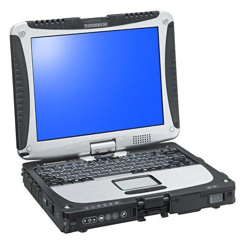 Panasonic CF-191HACHFG 25,7 cm (10,1 Zoll) Laptop (Intel Core i5 3320M, 2,6GHz, 4GB RAM, 500GB HDD, Intel HD Graphics 4000, Win 7 Pro) silber/schwarz