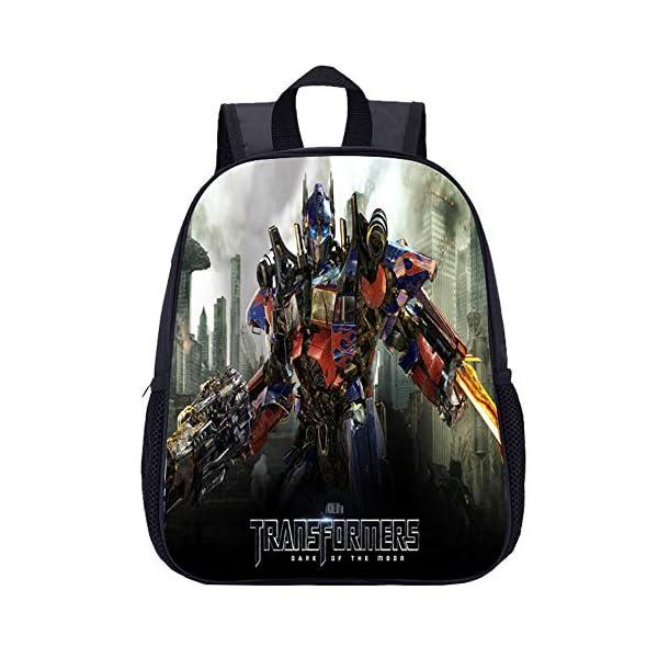 51VzMscs64L. SS600  - Transformers Mochila Casual Los Modelos básicos Son preferidos para Las Mochilas de Moda Mochila para niños (Color : A07…