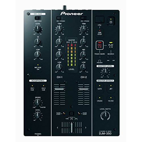 Pioneer DJM-350 PRO 2-CHANNEL DJ PERFORMANCE MIXER