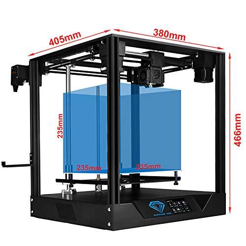 GRF Impresora 3D COREXY Alta Precisión Gran Tamaño Cuasi-Industrial Grado Grado De Escritorio Inicio FDM Maker Educación DIY
