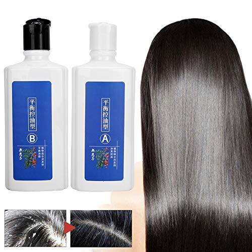 2pcs Shampoo, Anti Hair Loss Shampoo, Hair Shampoo Oil Control Barber Salon Home Moisturizing Scalp Soothes Shampoo for Men and Women