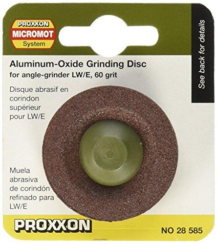 Proxxon 28585 Schleifscheibe aus Edelkorund Korn 60 für LHW