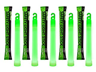 12 Ultra Bright Glow Sticks - Emergency Light Sticks for Camping Accessories, Parties, Hurricane Supplies, Earthquake, Survival Kit and More - Lasts Over 12 Hours (Green) (B01GTU597I)   Amazon price tracker / tracking, Amazon price history charts, Amazon price watches, Amazon price drop alerts