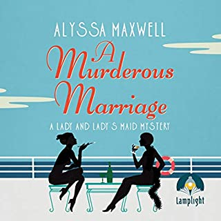 A Murderous Marriage cover art