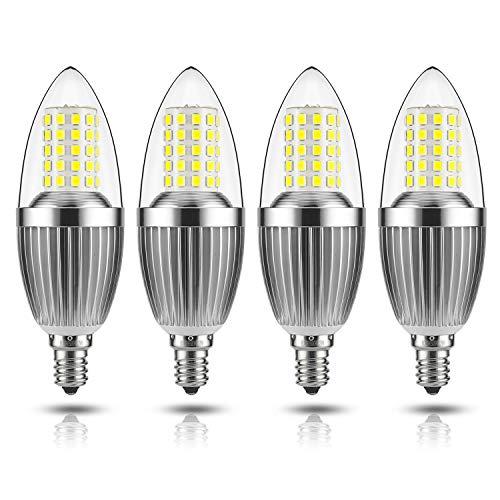 GEZEE LED Candelabra Bulb, Non-Dimmable 100-Watt Light...
