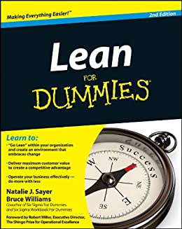 Lean For Dummies by [Natalie J. Sayer, Bruce Williams]