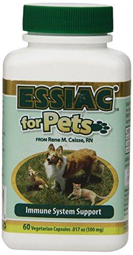 ESSIAC - Herbal Supplement for Pets - 60 Vegetarian Capsules