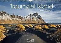 Traumziel Island 2022 (Wandkalender 2022 DIN A3 quer): Das einzigartige Land im Norden Europas in 12 traumhaften Bildern. (Monatskalender, 14 Seiten )