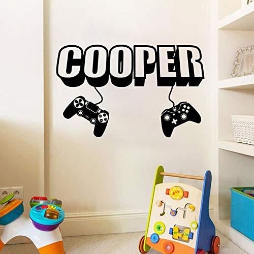 Reproductor de juegos calcomanías de pared creativas pegatinas de pared diseñadas para el dormitorio de los niños decoración del hogar calcomanías de vinilo para pared