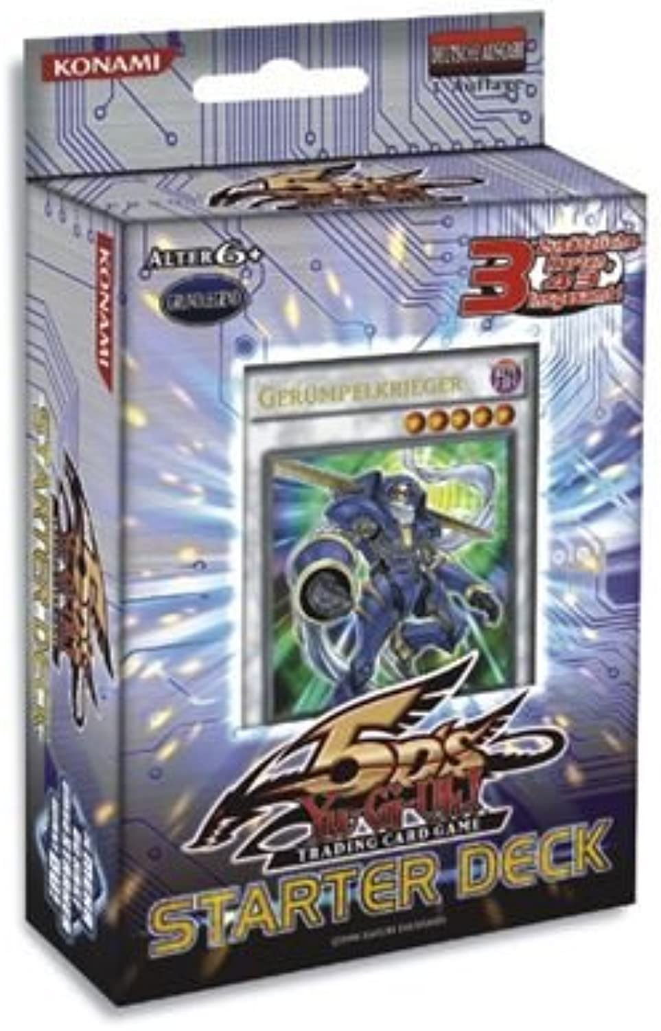 Konami 5Ds Starter Deck deutsch