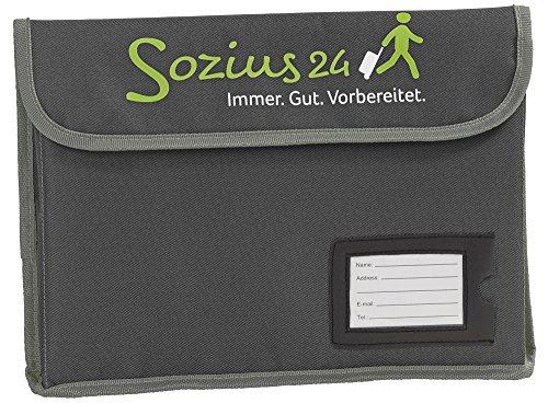 Sozius24 Vorsorgemappe (anthrazit/grau)