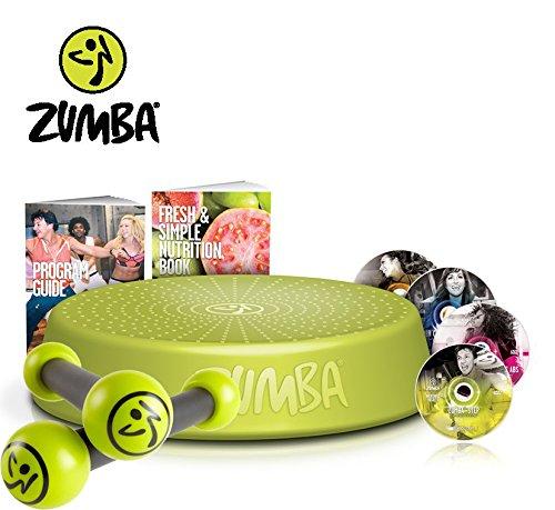 Zumba Fitness Incredible Results DVD-Set + Zumba Step Rizer Toning Sticks 0,5 kg im Set | Zumba, das revolutionäre Fitnessprogramm - tanzen Sie Sich zur Traumfigur!