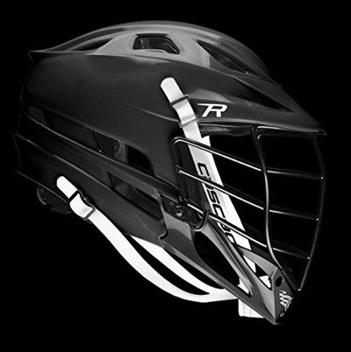 CASCADE R Lacrosse Helmet - Black, Black Facemask
