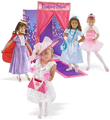 "Kids Adventure 00250-1 Fashion Show Playhouse, 30"" x 36"" x 42"", Pink/Purple"