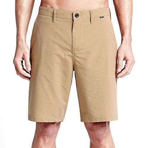 Hurley Men's Dri-Fit Chino 22 Walk Short, Khaki, 32 X 10