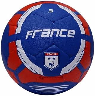 كرة قدم مطاطية مع عبارة France من فيكتور اكس، مقاس 3