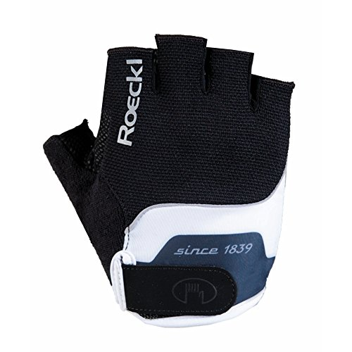 Roeckl Nano Fahrrad Handschuhe kurz schwarz/weiß 2017: Größe: 8