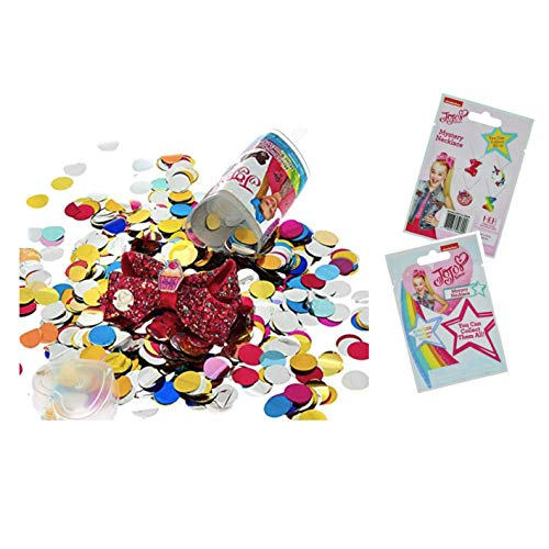 H.E.R Accessories JoJo Siwa Mini Bow Surprise Confetti Popper & Blind Bag Mystery Necklace Charm