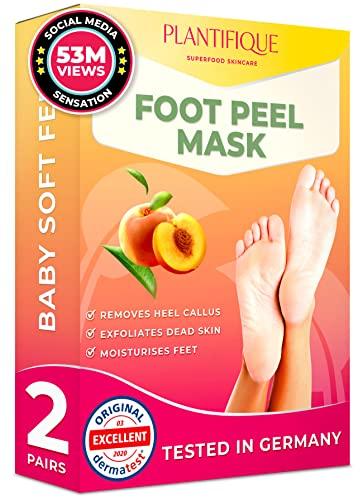 Fuß-Peel-Socken von Plantifique