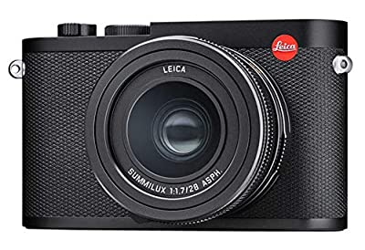 Leica Q2 Waterproof Dustproof High Speed Compact Black Anodized Digital Camera (19050) by Leica