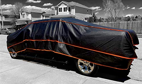 Huge Size 700x400cm CAR Cover Hail Protector for American Pickup Trucks and 4x4s Hail Storm Stone Snow Strong AUTO Guarding 6 MM Thickness Portable Tarpaulin
