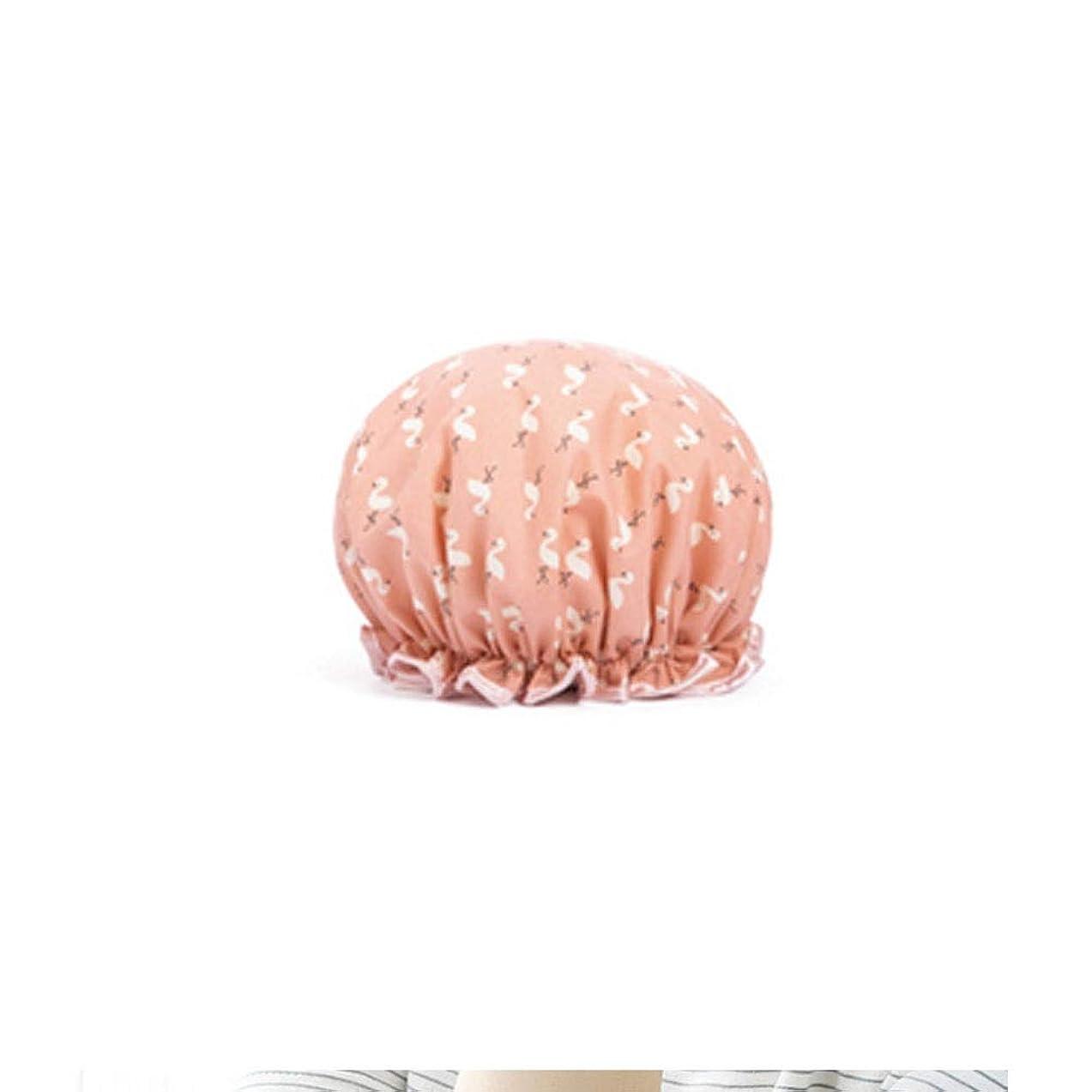 ファーザーファージュ不潔永遠のシャワーキャップ、レディースシャワーキャップレディース用のすべての髪の長さと太さのデラックスシャワーキャップ - 防水とカビ防止、再利用可能なシャワーキャップ。 (Color : 6)
