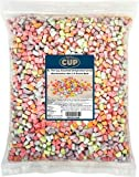 By The Cup Assorted Dehydrated Cereal Marshmallow Bits 2.6 Pound Bulk