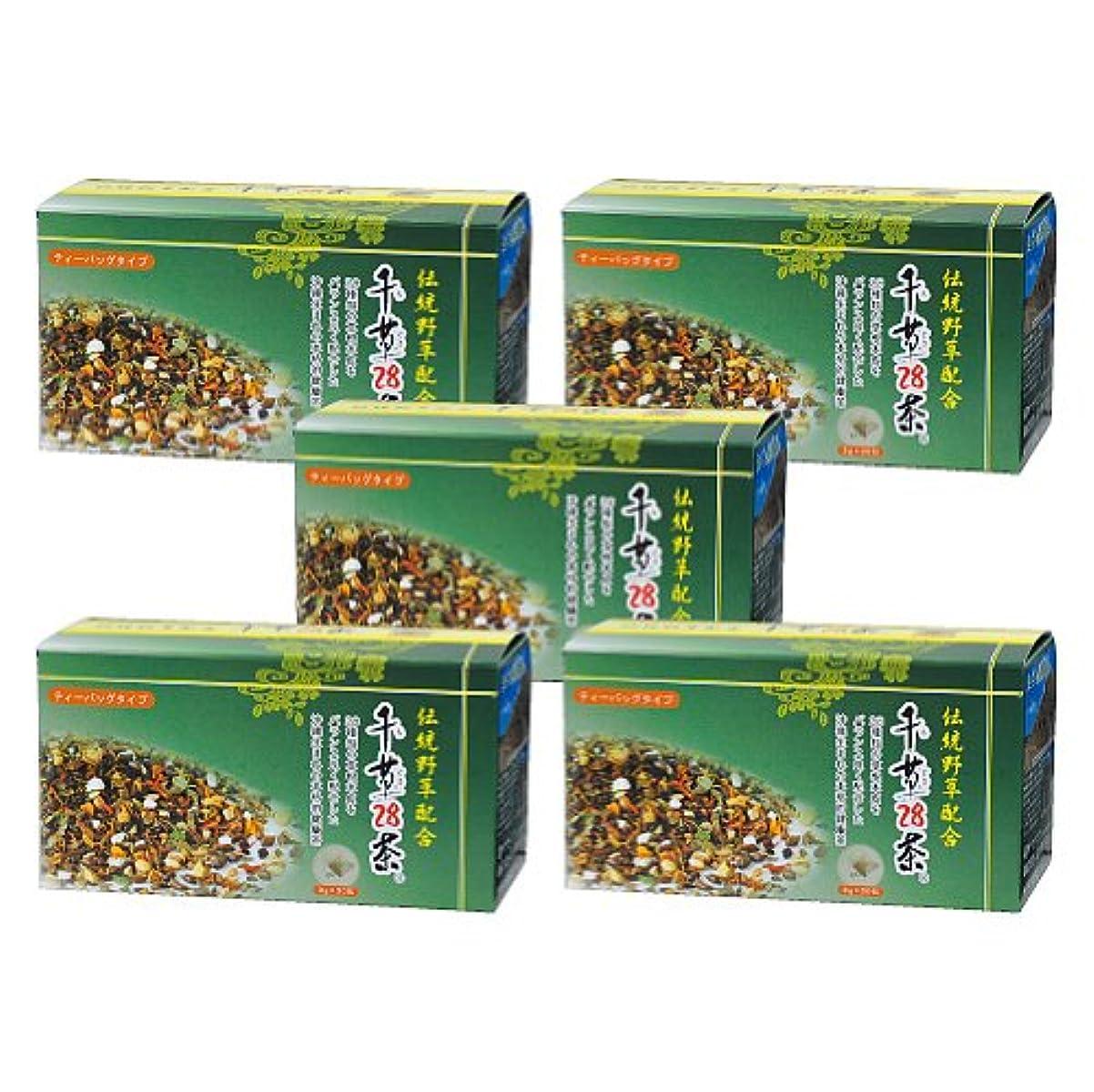 比類なきビデオ年齢千草28茶 ティーバッグタイプ 30包×5個
