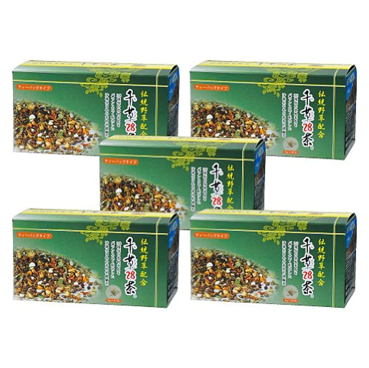 同行する全国見習い千草28茶 ティーバッグタイプ 30包×5個