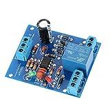 Sensore Livello Acqua Modulo,Acqua Livello Controller 9V-12V/DC AC Pompa di Drenaggio del Modulo di Controllo dell'acqua,Sensori di Livello Liquidi Modulo