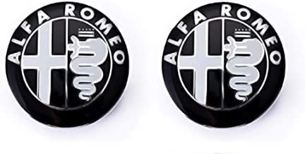 Pack de Emblemas para capo y maletero 74mm de repuesto. Insignia Negra (2 Unidades)