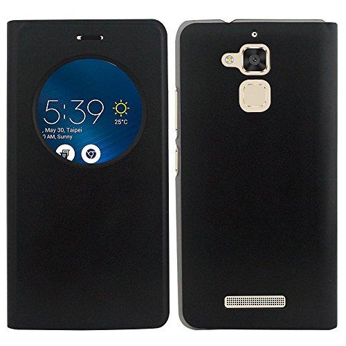 HCN PHONE ASUS Zenfone 3 Max ZC520TL 5.2' Custodia Cover Vibrazione Vista Copertura Custodia ASUS zenfone 3 Max ZC520TL 5.2' - Nero